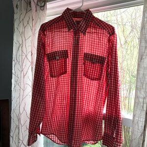 Vintage Levi's Red gingham shirt